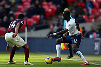 Moussa Sissoko of Tottenham Hotspur and Isaac Hayden of Newcastle United during Tottenham Hotspur vs Newcastle United, Premier League Football at Wembley Stadium on 2nd February 2019