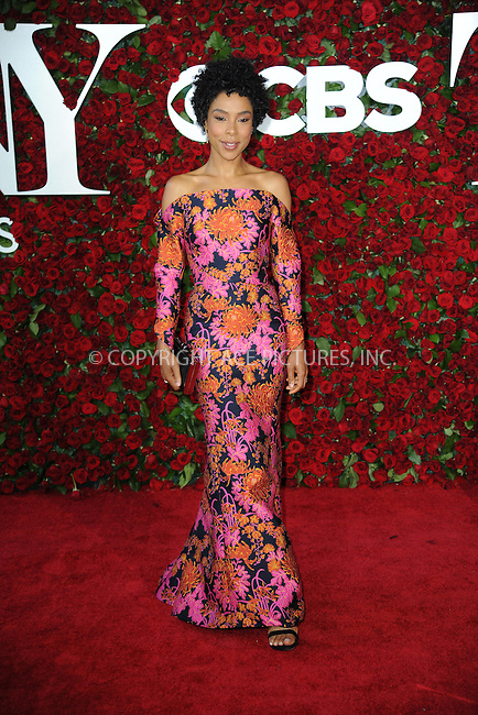 www.acepixs.com<br /> June 12, 2016  New York City<br /> <br /> Sophie Okonedo attending the 70th Annual Tony Awards at The Beacon Theatre on June 12, 2016 in New York City.<br /> <br /> Credit: Kristin Callahan/ACE Pictures<br /> <br /> <br /> Tel: 646 769 0430<br /> Email: info@acepixs.com