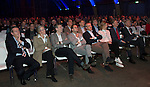 UTRECHT - Nationaal Golf Congres en Beurs 2017. NVG  motto: Like to Play & Love to stay. Jeroen Stevens, Jelle Paauw, Dirk-Jan Vink, Renate Roeleveld, , Paul Wessel en Lodewijk Klootwijk , Tinus Vernooij. FOTO © Koen Suyk