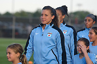 Piscataway, NJ - Saturday Aug. 27, 2016: Sofia Huerta prior to a regular season National Women's Soccer League (NWSL) match between Sky Blue FC and the Chicago Red Stars at Yurcak Field.