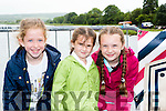 The medal presenters at the Callinafercy Regatta on Sunday were l-r: Rachel Boyle, Kara O'sullivan and Caoimhe O'Sullivan
