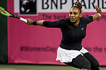 March 8, 2019: Serena Williams (USA) defeated Victoria Azarenka (BLR) 7-5, 6-3 at the BNP Paribas Open at the Indian Wells Tennis Garden in Indian Wells, California. ©Mal Taam/TennisClix/CSM