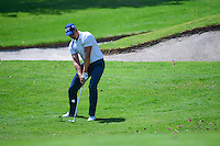 Henrik Stenson (SWE) chips on to 1 during round 1 of the World Golf Championships, Mexico, Club De Golf Chapultepec, Mexico City, Mexico. 3/2/2017.<br /> Picture: Golffile | Ken Murray<br /> <br /> <br /> All photo usage must carry mandatory copyright credit (&copy; Golffile | Ken Murray)