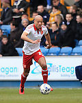 Sheffield United's Alex Baptiste in action during the League One match at The Den.  Photo credit should read: David Klein/Sportimage
