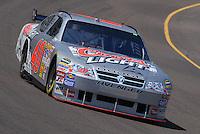 Apr 19, 2007; Avondale, AZ, USA; Nascar Nextel Cup Series driver David Stremme (40) during practice for the Subway Fresh Fit 500 at Phoenix International Raceway. Mandatory Credit: Mark J. Rebilas