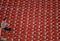 SAO PAULO SP, 20 Julho 2013 - Sao Paulo  X Cruzeiro - Torcedor do São Paulo durante partida contra o Cruzeiro valida pelo campeonato brasileiro de 2013  no Estadio do Morumbi em  Sao Paulo, neste sabado, 20. (FOTO: ALAN MORICI / BRAZIL PHOTO PRESS).