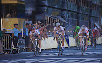 Marcel Sieberg (DEU) wins his 4th stage in the 100th TdF in front of André Greipel (DEU) & Mark Cavendish (GBR)<br /> <br /> Tour de France 2013<br /> (final) stage 21: Versailles - Paris Champs-Elysées<br /> 133,5km