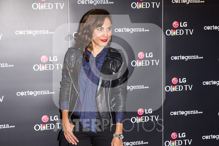 Toni Acosta during attends to the presetation of Cortogenia at Capitol Cinema in Madrid, Spain. December 12, 2016. (ALTERPHOTOS/Rodrigo Jimenez)