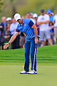 Rory McIlroy (NIR) in action during the final round of the Abu Dhabi HSBC Golf Championship played at Abu Dhabi Golf Club, UAE 16-19 January 2014.(Picture Credit / Phil Inglis)