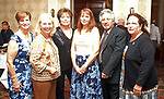 Torrington, CT 1004177MK06 ( from Left) Eveie Bergs, Deirdre DiCara, Nancy Strini, Betty Ann Cuozzo, Edward Cannata and Margaret Franzi  gathered at the Third Annual A Tasteful Event at the Torrington Elks Club.  Proceeds will benefit FISH Food Pantry and Homeless Shelter. Michael Kabelka / Republican-American