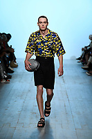 Alex Mullins Spring/Summer 2019 SS19 at London Fashion Week. London, England on June 10. 2018.<br /> *Editorial Use Only*<br /> CAP/PLF<br /> Image supplied by Capital Pictures