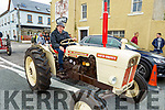 James O'Shea of Blennerville on his tractor at the Blennerville Trashing Festival on Sunday.