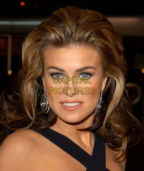 CARMEN ELECTRA.World Premiere of Warner Brother's Starsky & Hutch held at The Mann Village Theatre in Westwood, California .26 February 2004 .*UK Sales Only*.headshot, portrait.www.capitalpictures.com.sales@capitalpictures.com.©Capital Pictures.