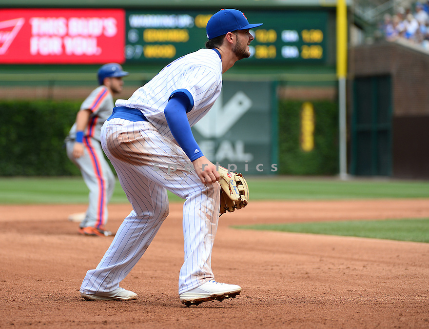 Chicago Cubs Kris Bryant (17) during a game against the New York Mets on July 20, 2016 at Wrigley Field in Chicago, IL. The Cubs beat the Mets 6-2.