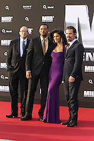 Barry Sonnenfeld, Will Smith, Nicole Scherzinger and Josh Brolin attending MEN IN BLACK 3 premiere at O2 World. Berlin, Germany, 14.05.2012...Credit: Semmer/face to face.. /MediaPunch Inc. ***FOR USA ONLY***