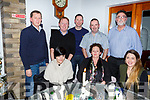 The staff of Soundstore Tralee enjoying their Christmas party in Bella Bia on Saturday night. <br /> Seated l-r, Catriona Costello, Celia Forde, Fern Teahan, Janis Valukonas, Anthony Guerin, Brian Donoghue, Aidan Condon and Norman Hellstrom.