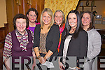 Family and friends from Caherhayes, Abbeyfeale enjoying Little Christmas last Friday night in Leen's Hotel, Abbeyfeale, pitured l-r: Sheila Broderick, Una Kavanagh, Ciara Broderick, Catriona Sheeran, Sinead and Sandra Broderick..