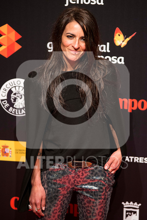 Bebe attends to the cocktail presentation of the XIX Malaga Film Festival at Circulo de Bellas Artes in Madrid. April 06, 2016. (ALTERPHOTOS/Borja B.Hojas)