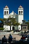 Main Cathedral and Plaza Gerardo Barrios in San Salvador, El Salvador.