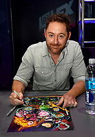 SAN DIEGO COMIC-CON© 2019:  20th Century Fox Television's AMERICAN DAD Cast Member Scott Grimes during the AMERICAN DAD booth signing on Saturday, July 20 at the SAN DIEGO COMIC-CON© 2019. CR: Alan Hess/20th Century Fox Television