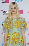 HOLLYWOOD, CA - JANUARY 12: Elle Fanning arrives at the 17th Annual Critics' Choice Movie Awards at Hollywood Palladium on January 12, 2012 in Hollywood, California.