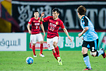 Guangzhou Forward Yu Hanchao (C) in action during the AFC Champions League 2017 Group G match between Guangzhou Evergrande FC (CHN) vs Kawasaki Frontale (JPN) at the Tianhe Stadium on 14 March 2017 in Guangzhou, China. Photo by Marcio Rodrigo Machado / Power Sport Images