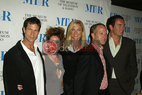 Cast and Crew of Nip Tuck<br />at &quot;Miami Black and Blue: A Look at Nip/Tuck&quot;. Museum of Television and Radio, Los Angeles, CA. 09-19-05<br />Jason Kirk/DailyCeleb.com 818-249-4998
