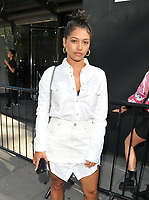 Vanessa White at the LFW (Men's) s/s 2019 What We Wear catwalk show, BFC Showspace, The Store Studios, The Strand, London, England, UK, on Monday 11 June 2018.<br /> CAP/CAN<br /> &copy;CAN/Capital Pictures