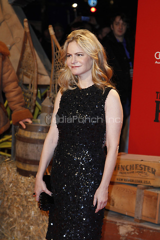 Jennifer Jason Leigh attending the The Hateful 8 premiere held at Zoo Palast, Berlin, Germany, 26.01.2016. <br /> Photo by Christopher Tamcke/insight media /MediaPunch ***FOR USA ONLY***