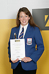 Girls Lawn Bowls winner Louise Russell. ASB College Sport Young Sportperson of the Year Awards 2007 held at Eden Park on November 15th, 2007.