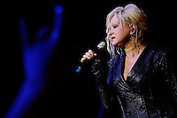 CLEVELAND - MAY 14:  Cyndi Lauper performs during the Rock and Roll Hall of Fame 'It's Only Rock And Roll' benefit concert and Women Who Rock exhibit opening concert at the Cleveland Convention Center on Saturday May 14, 2011 in Cleveland, Ohio.  (Photo by Jared Wickerham/Jared Wickerham/Getty Images for Rock and Roll Hall of Fame and Museum)