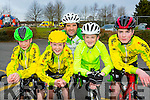 Tiarnach, Aona, Mike, Tadhg O'Shea and Sean Arthurs who competed in the Two Lakes Cycle in Killorglin on Saturday