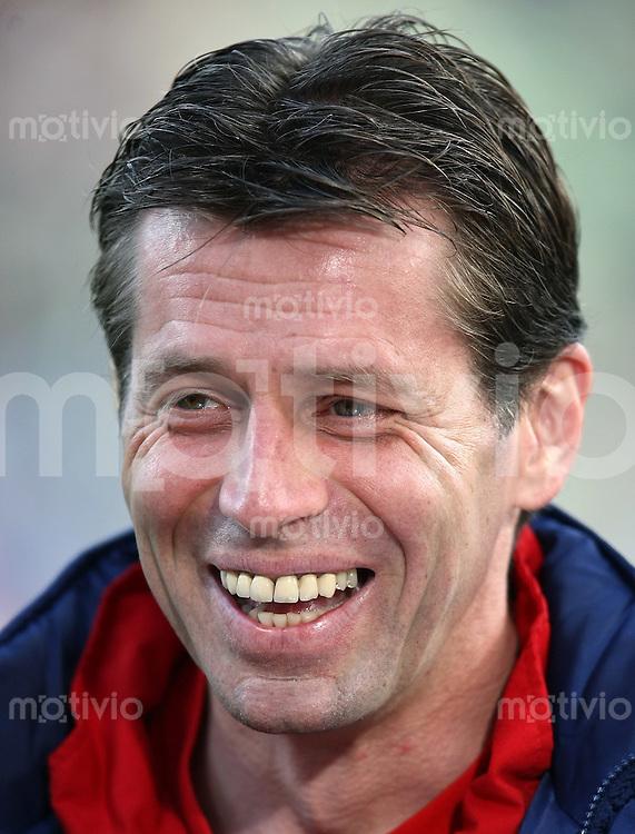 FUSSBALL     1. BUNDESLIGA     SAISON 2007/2008   21. SPIELTAG Trainer Michael SBIBBE (Bayer 04 Leverkusen)