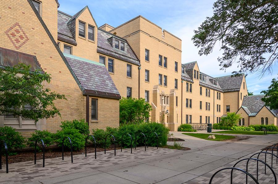 June 14, 2019; Howard Hall (Photo by Barbara Johnston/University of Notre Dame)
