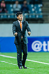 Jeju United Head Coach Cho Sung Hwan reacts during the AFC Champions League 2017 Group Stage - Group H match between Jeju United FC (KOR) vs Adelaide United (AUS) at the Jeju World Cup Stadium on 11 April 2017 in Jeju, South Korea. Photo by Marcio Rodrigo Machado / Power Sport Images