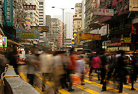 Hong Kong crossings.