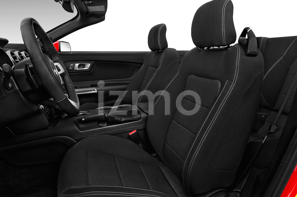 Front seat view of 2016 Ford Mustang V6 2 Door Convertible Front Seat  car photos