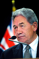 Deputy Prime Minister Winston Peters. Post Cabinet media press conference at Parliament in Wellington, New Zealand on Monday, 18 March 2019. Photo: Dave Lintott / lintottphoto.co.nz