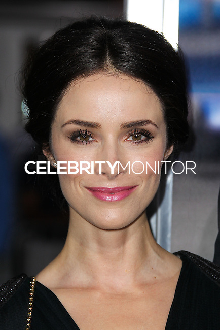 "WESTWOOD, LOS ANGELES, CA, USA - APRIL 07: Abigail Spencer at the Los Angeles Premiere Of Summit Entertainment's ""Draft Day"" held at the Regency Bruin Theatre on April 7, 2014 in Westwood, Los Angeles, California, United States. (Photo by Xavier Collin/Celebrity Monitor)"