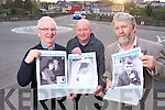 """Austin O'Reilly, Terence Houlihan and Johnny """"Porridge"""" O'Connor, pictured at the launch of an appeal for memorabilia of the Killorglin area, to create an archive for future generations. ...... .........................."""