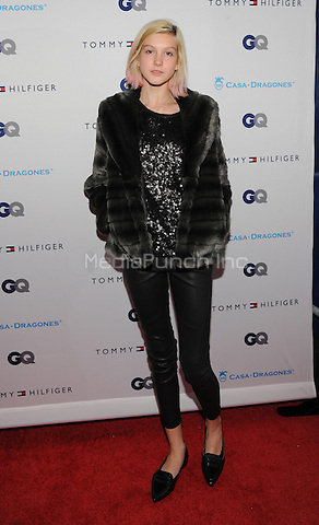 New York, NY- December 11:  Chloe Blackshire attend the Tommy Hilfiger and GQ event honoring The Men Of New York at the Tommy Hilfiger Flagship on December 11, 2014 in New York City. Credit: John Palmer/MediaPunch