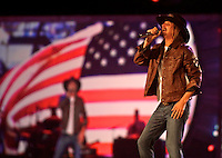 Kid Rock performs at the NASCAR Championship Banquet, Las Vegas, NV, December 2, 2011.  (Photo by Brian Cleary/www.bcpix.com)