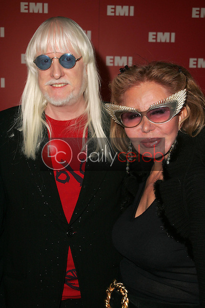 Edgar Winter and wife<br />