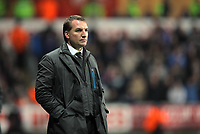 Pictured: Team manager Brendan Rodgers of Swansea.Tuesday, 31 January 2012<br />
