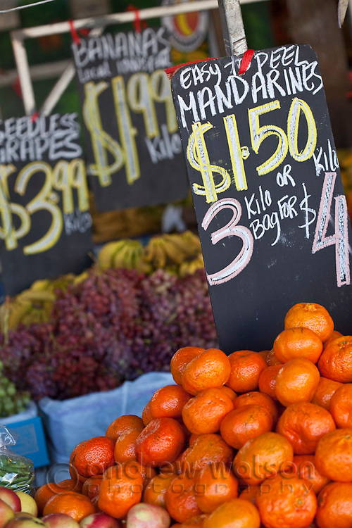 Fresh produce at Rusty's Markets.  Cairns, Queensland, Australia