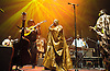 AfroCubism<br /> performing live at The Royal Albert Hall, London, Great Britain <br /> 27th June 2011<br /> <br /> Eliades Ochoa<br /> <br /> Kasse Mady Diabat&eacute; <br /> Bassekou Kouyate<br /> <br /> <br /> Photograph by Elliott Franks