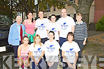 MARATHON: Running in the10k Mini Marathon were teachers from Moyderwell Tralee from the Brandon Hotel, Front l-r: Aoife O'Connor,Anne Marie O'Shea, Brenda Coughlan and Sarah Daly. Back l-r: Sr Godfri Griffin, Maura Duggan,Laura Daly, Linda O'Halloran,Denis Griffin and Peggy O'Carroll...