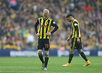 Watford's Will Hughes<br /> <br /> Photographer Rob Newell/CameraSport<br /> <br /> Emirates FA Cup Semi-Final  - Watford v Wolverhampton Wanderers - Sunday 7th April 2019 - Wembley Stadium - London<br />  <br /> World Copyright © 2019 CameraSport. All rights reserved. 43 Linden Ave. Countesthorpe. Leicester. England. LE8 5PG - Tel: +44 (0) 116 277 4147 - admin@camerasport.com - www.camerasport.com
