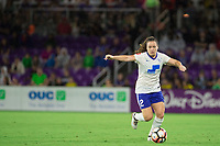 Orlando, FL - Saturday September 02, 2017: Allysha Chapman during a regular season National Women's Soccer League (NWSL) match between the Orlando Pride and the Boston Breakers at Orlando City Stadium.