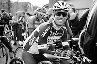 a relaxed Mark Cavendish (GBR/Ettix-QuickStep) before the start of the race<br /> <br /> 67th Kuurne-Brussels-Kuurne 2015